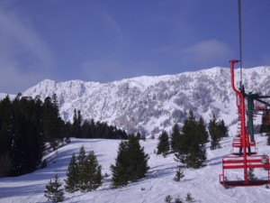 Bridger Bowl Skiing is awesome.