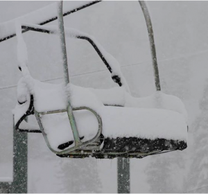 Snowing in the Sierras now.