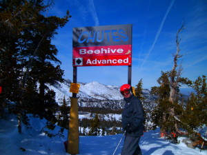 Steep and challenging skiing Mt Rose.