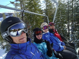 Kirkwood is a great family ski week location.