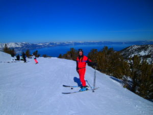 Lake Tahoe  is gorgeous from top of Heavenly.